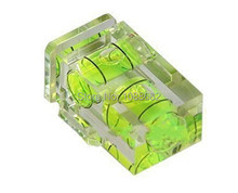 EU SALE Hot Shoe Two Axis Double Bubble Spirit Level for Digital and Film Cameras Free Shipping