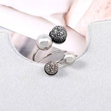 Rainbery 2019 Новое медное кольцо геометрической формы для свадебной вечеринки женские кольца на палец уникальный дизайн индивидуальные Винтажн...(Китай)