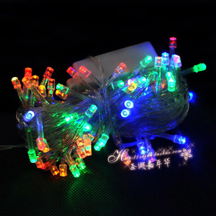 Backyard Twinkle Lights: 100-LED-String-Lighting-Wedding-Fairy-Christmas-Lights