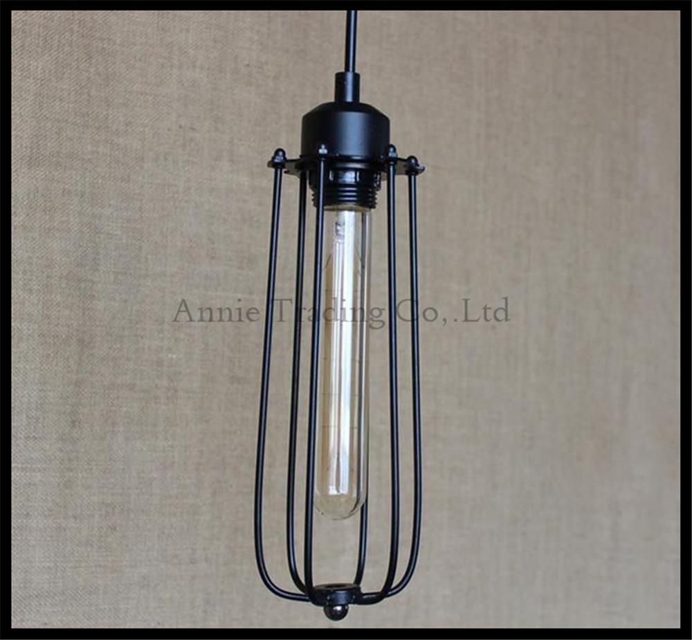 industrial art decro style retro lustre pendant lights vintage stair hanging lighting lamp long. Black Bedroom Furniture Sets. Home Design Ideas