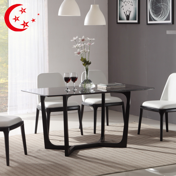 Ikea Wood Dining Table: Nordic Wood Dining Table Marble Dining Table And Chairs