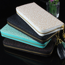 2015new Fashion Purse,Hot Sale Vintage Pattern Women Wallets,carteira feminina good Quality,Women Clutch 8 Color