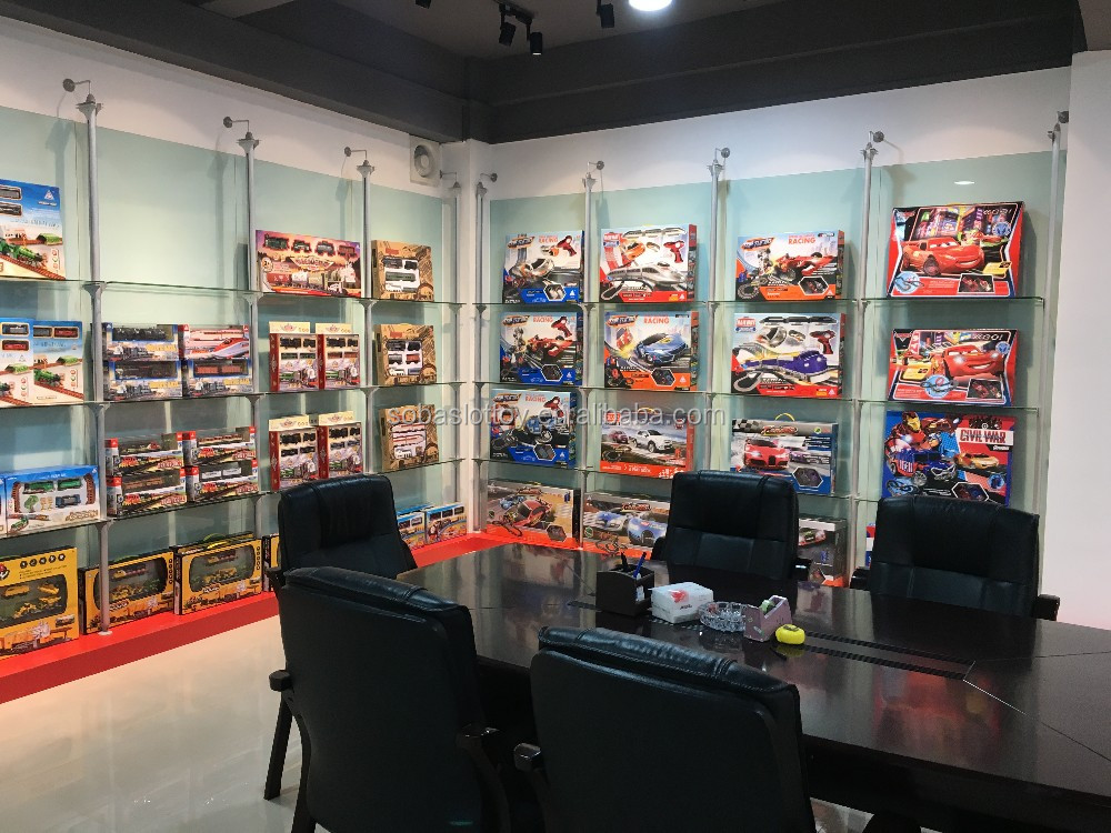 Soba Toys Factory Slot Toy Racing Car Slot Track Train Set