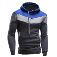 New Autumn Winter Mens Fashion Hoodies Sweatshirt Sportswear Male Casual Patchwork Slim Fit Fleece Jacket Men's Clothing XZ007