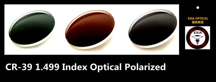 ff6e26099f Men s Sunglasses Brown Polarized CR39 Prescription Myopia Optical ...