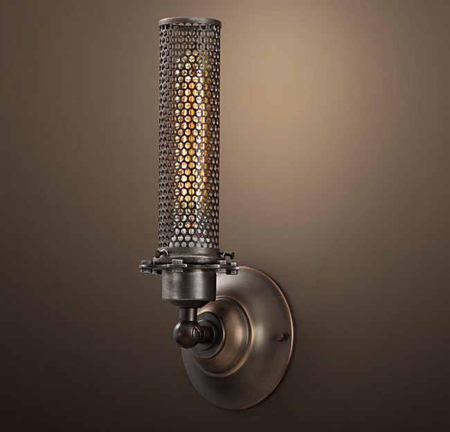 Vintage cutout iron wall lamp art lamp lamps b8045