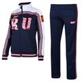 Sochi Winter Olympics 2014 russia bosco Sport male suit fall winter russian sports suits men coat
