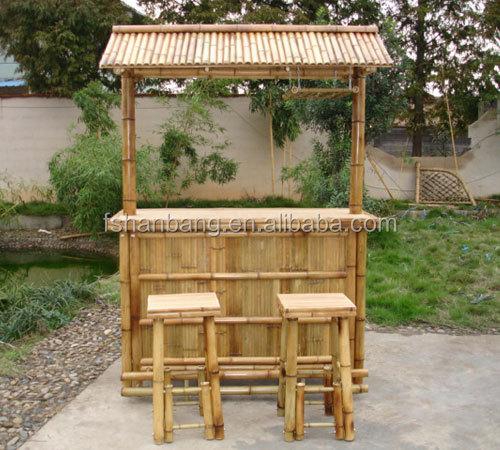 En Plein Air Bambou Contre Tiki Bar Table Chaise Tabouret