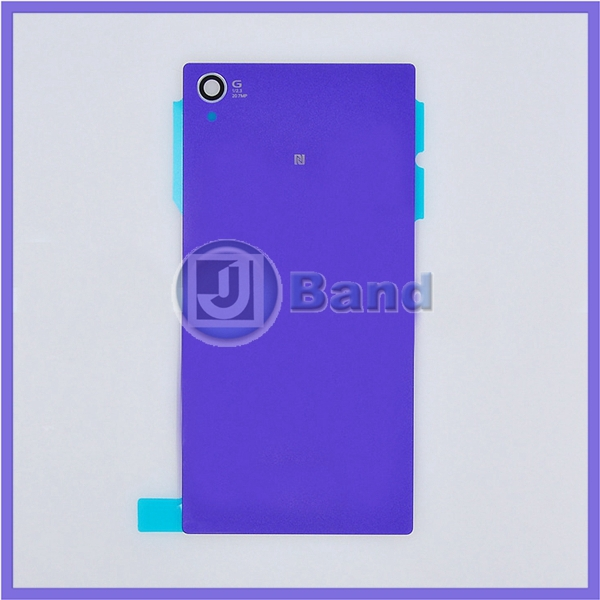 10 шт. аккумулятор крышка для Sony Xperia Z1 L39 C6902 C6903 C6906 C6943 L39h задняя часть стекло корпус + наклейка + отслеживая номер