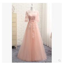 Пром платья с половиной рукавов It's YiiYa , платья выпускного вечера с Длинные , Серый O-образным вырезом , Плюс размер на заказ зашнуровать назад...(Китай)