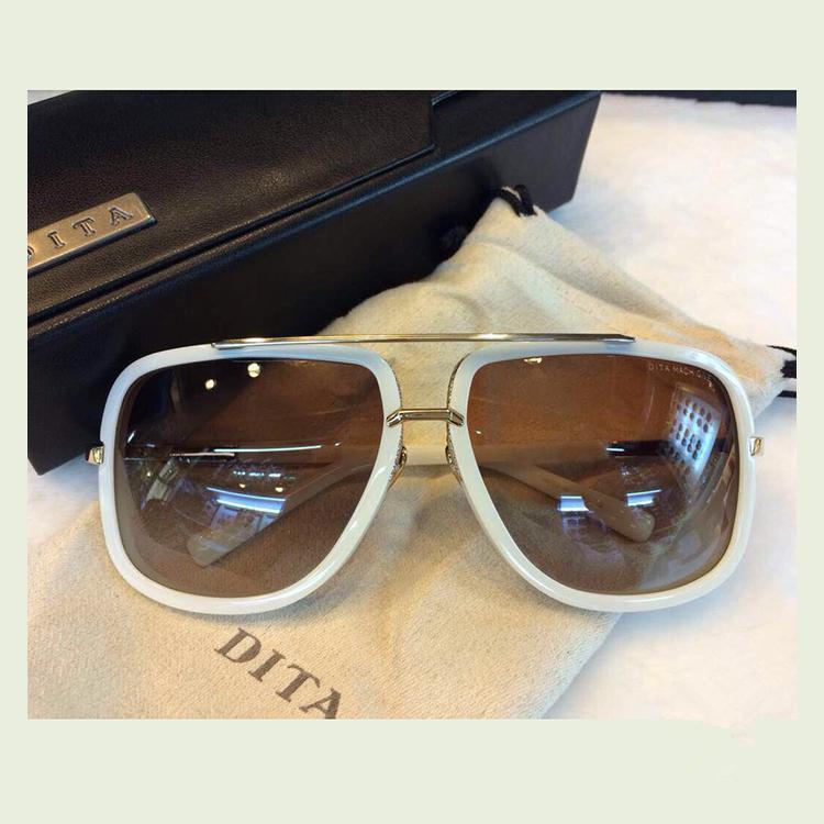 Eyewear Brand New 18k Sunglasses One Dita Oculos Men Gold Women Lunettes Mach 4Rj5L3A