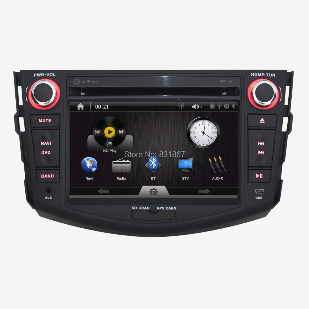 sale 2din 7 inch car dvd player with mp3 cd bt fm rds gps radios audio touch screen for toyota. Black Bedroom Furniture Sets. Home Design Ideas