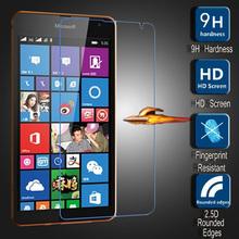 Tempered Glass for Microsoft Lumia 535 Dual SIM RM-1090 Glass Screen Protector Protective Film Pantalla for Nokia Lumia 535
