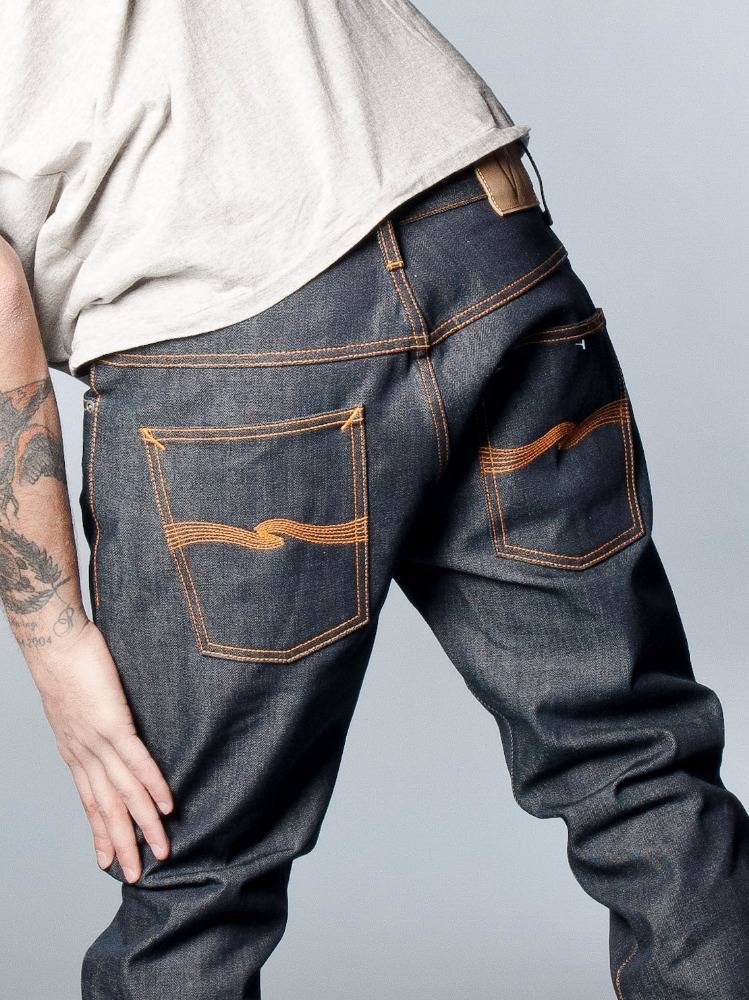 Raw Man Denim Jeans Name Brand Jeans Wholesale Custom Made ...