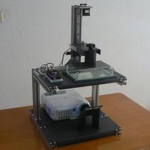 Cost effective New design desktop open source durable precise DIY DLP 3d printer full kit excluding DLP projector great quality
