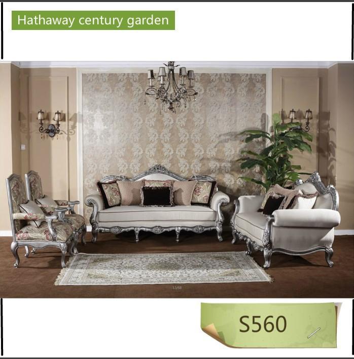 Mewah klasik furniture sofa kayu, Kain sofa grosir, membeli, produsen