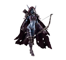 Great Quality Rare Sylvanas Windrunner 15cm PVC Action Figure Model Toys Gift