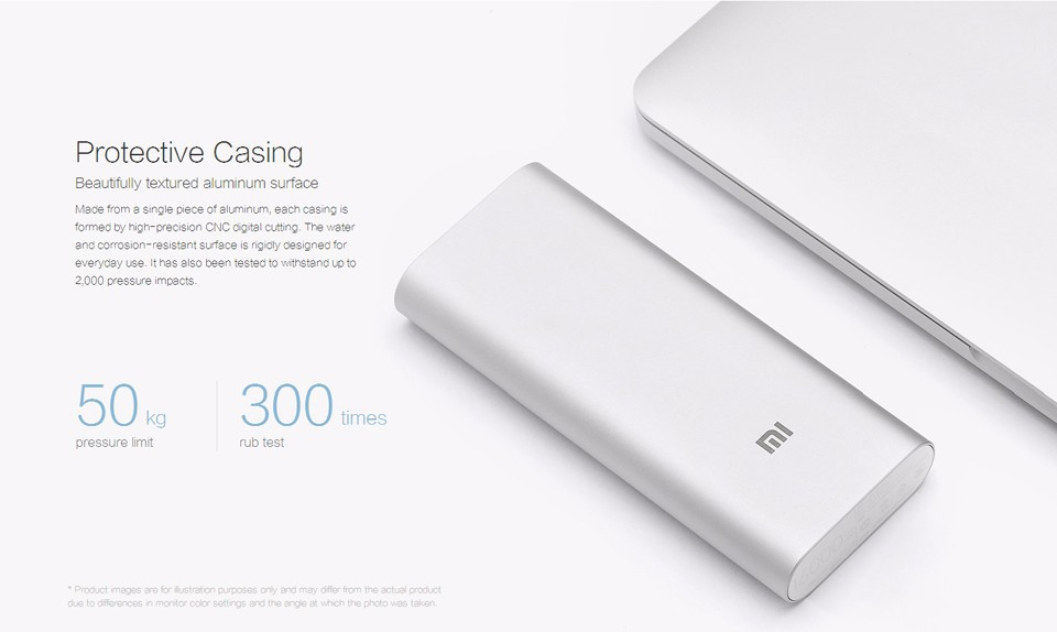 Original Xiaomi Backup Powers Power Bank 16000mah External Batterry Mobile Me 2