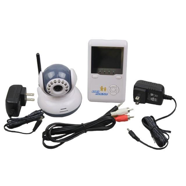 Цифровой жк-дисплей младенцы видео монитор комплекты 2,4 ггц беспроводная ночное видение радио няня 2 способ внутренняя связь говоря электроника видеоняни