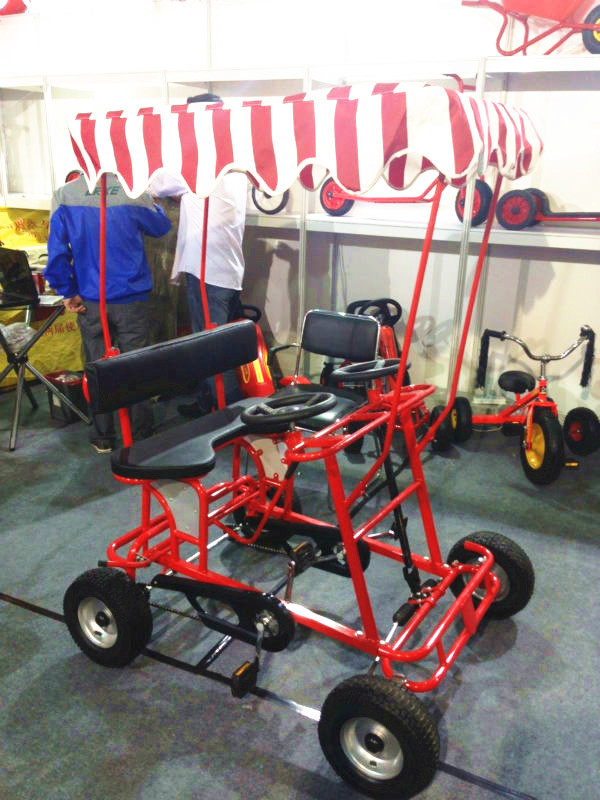 cheap four wheel quadricycle surrey sightseeing bike for sale. Black Bedroom Furniture Sets. Home Design Ideas