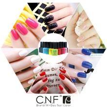 1PCS lot color 40537 CNF High quality Long lasting soak off LED UV Nail Gel Polish