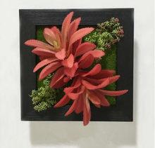 Новинка 3D Ручная работа Метопа сочные растения имитация дерева Фоторамка Украшение стен Искусственные цветы домашний декор(Китай)