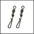 50 pieces lot Rolling swivel with hanging snap Swivels Rolling Swivel Interlock Snap Size8 6 4