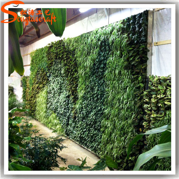 Garden Vertical Green Grass Wall Factory Price Artificial