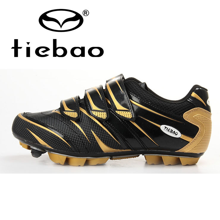 2015 New Men Women Tiebao MTB Cycling Shoes Carbon Sole ...