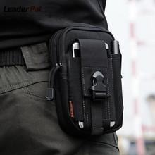 Good Use New Portable Outdoor Military Tactical Belt Waist Bags Men Waterproof Nylon Mobile Phone Wallet Travel Sport Waist Pack