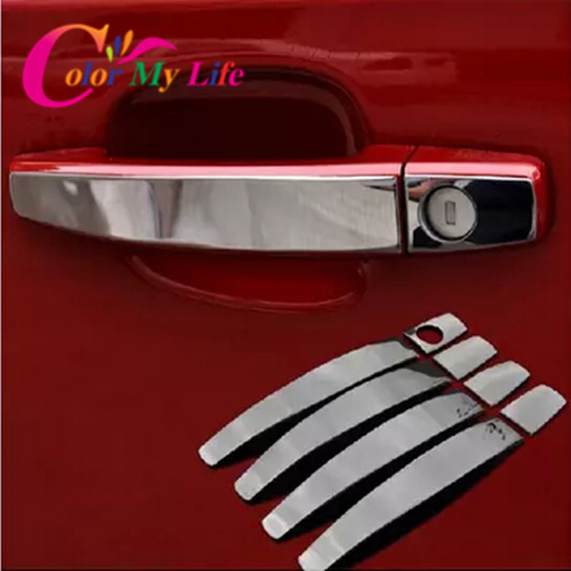 Hot Stainless Steel Trim Door Handle Cover For Opel Zafira