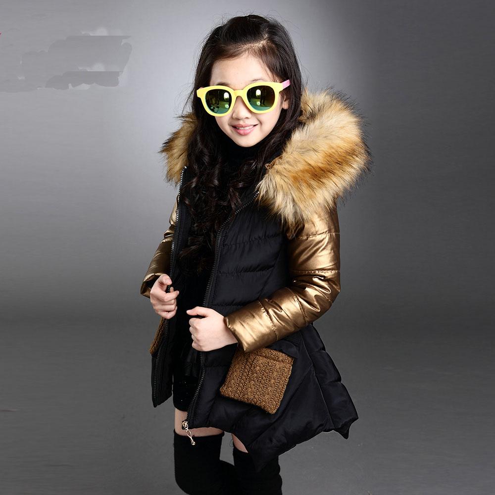 Toddler Girl Winter Coat Baby Girl Warm Coat Padded Child