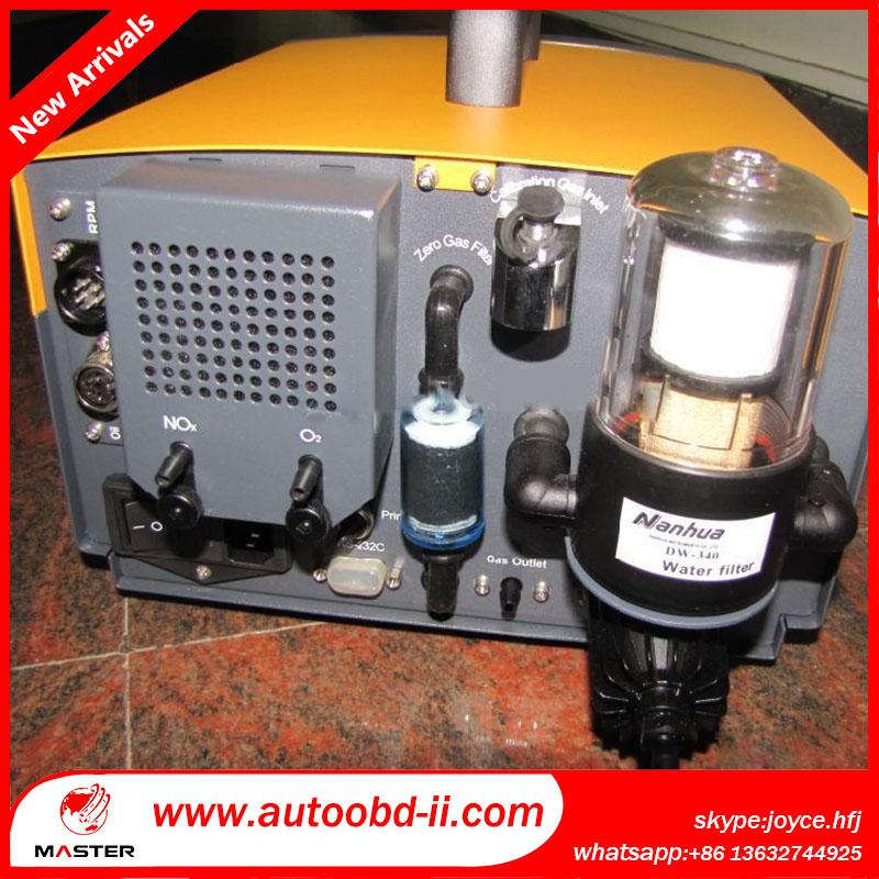 Nha506 ( 5-Gas ) хк, Co, Co2, O2, Нет подлинные автомобиль выбросы выхлопных газов анализатор инструмент непрозрачный дым метр