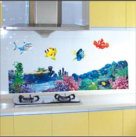 Nemo Bathroom Set: Free Shipping Finding Nemo Bathroom Nursery Kids MURAL ART