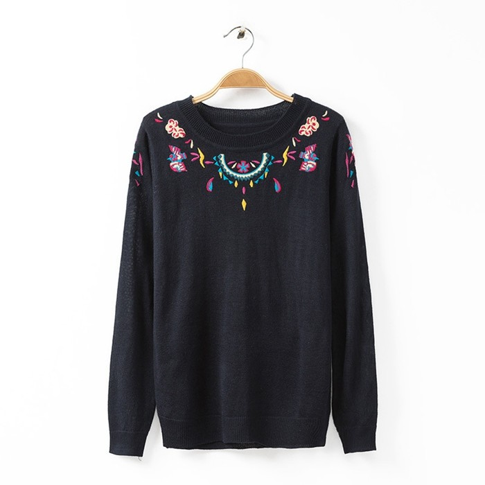 Winter Dress Hot Sale Poncho Floral New Sweaters 2015 ...