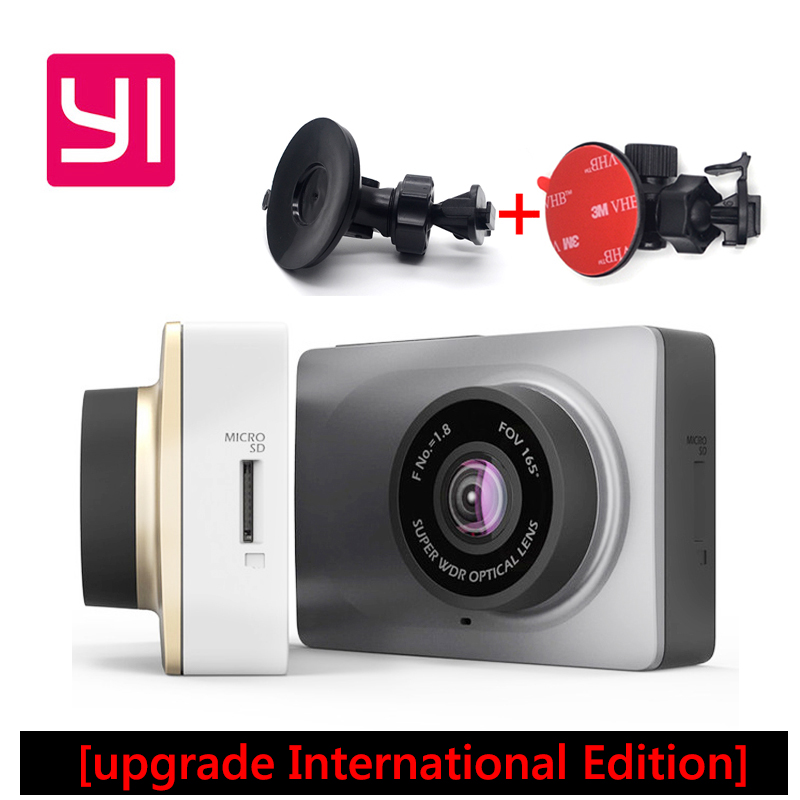 Upgrade International Editio Xiaomi YI Smart Car DVRs camera