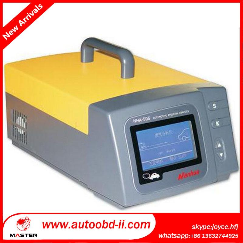 Портативный автомобильный анализатор NHA506 ( 5-Gas ) хк со со2 о2 нет