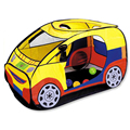 Foldable 120 60 65cm Car Shape Play Tent Indoor Kids Gaming Play House Outdoor Hut Children