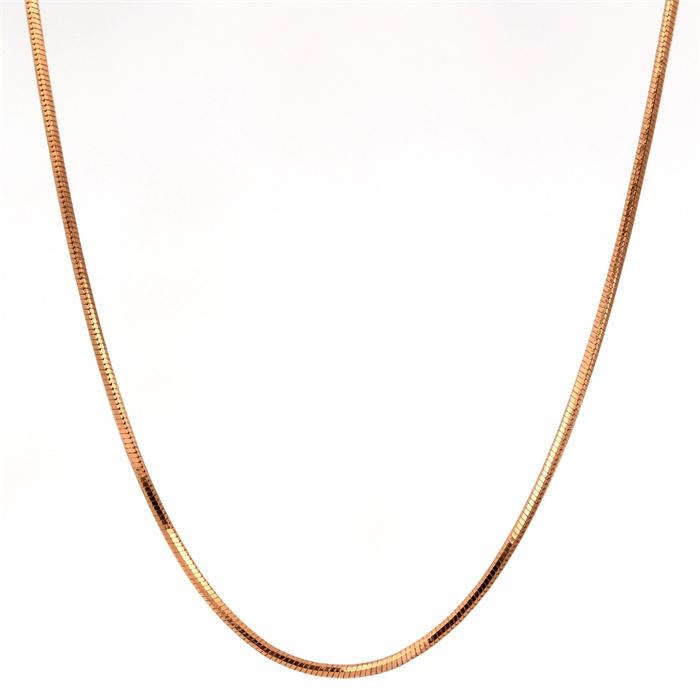 Yellow Gold Plated Slim Thin Snake Chain 14 Quot Choker
