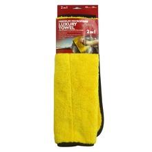 Auto Shine Super Thick Plush Microfiber Car Wax & Polishing Towel for Car Care Detailing