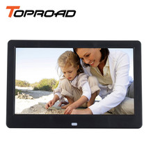 10 Inch Wide Screen Digital Picture Frame Photo Album MP3 Movie Player Alarm Clock Slideshow with Remote Porta Retrato Digital