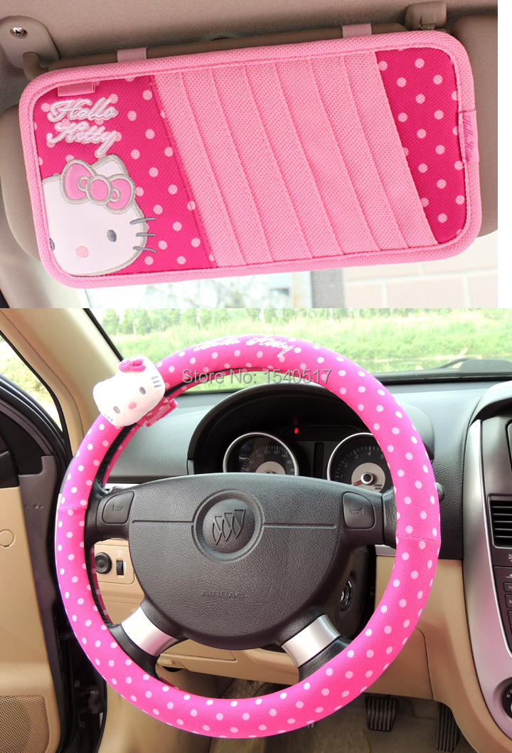 accessoires hello kitty voiture. Black Bedroom Furniture Sets. Home Design Ideas