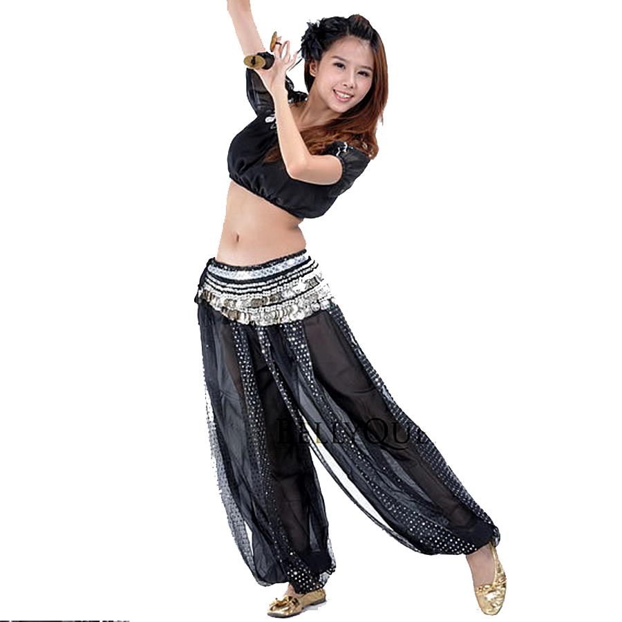 Belly Dance Costume Set (Top+Pants) Indian Wear Dance ...
