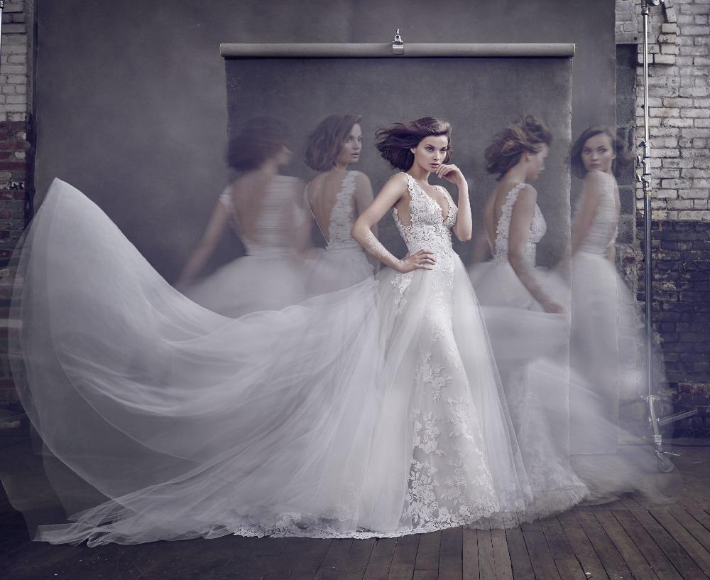 Popular Wedding Dresses Removable Skirt-Buy Cheap Wedding