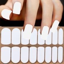 2015 newest 16 pcs strips press fashion  PURE COLORSseries 3d wrap nail art polish stickers love see details