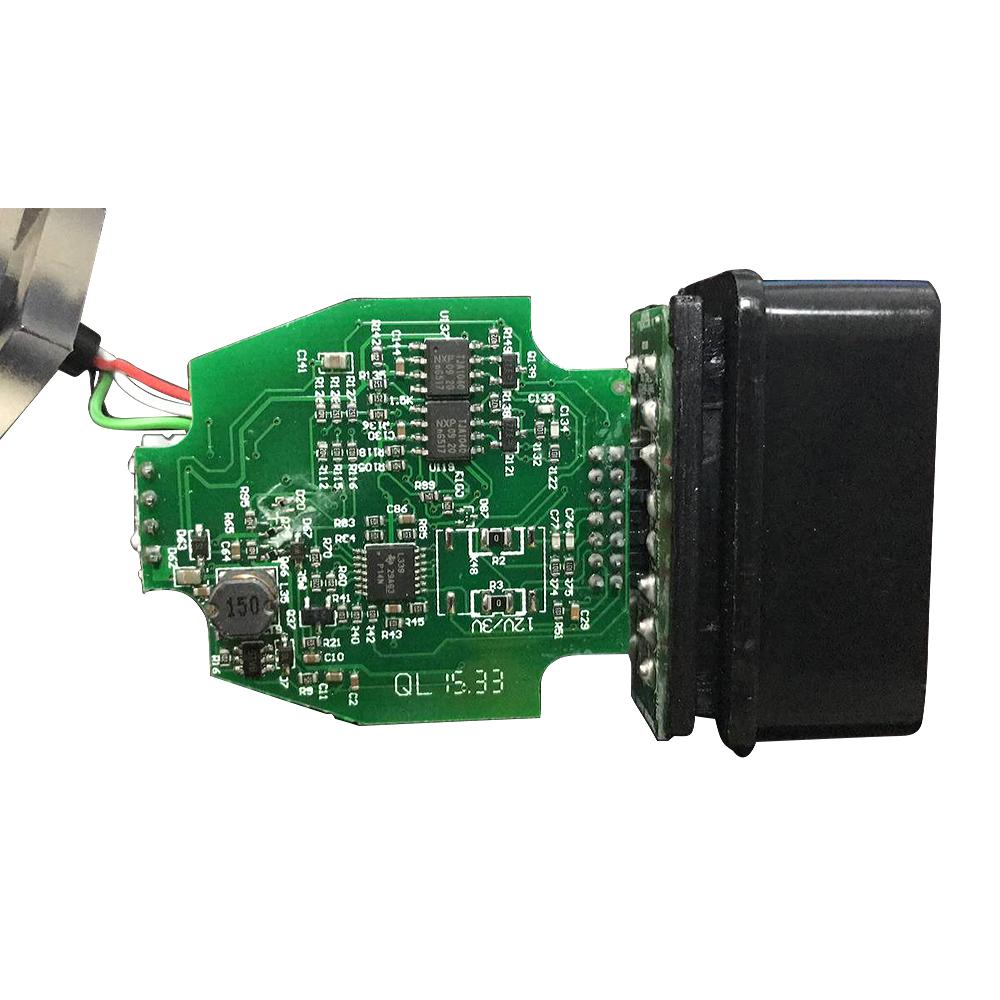 V2 3 8 OBD2 Code Reader ELS27 FORScan Works For Green PCB FTDI  Chip+PIC24HJ128GP Better Than ELM327