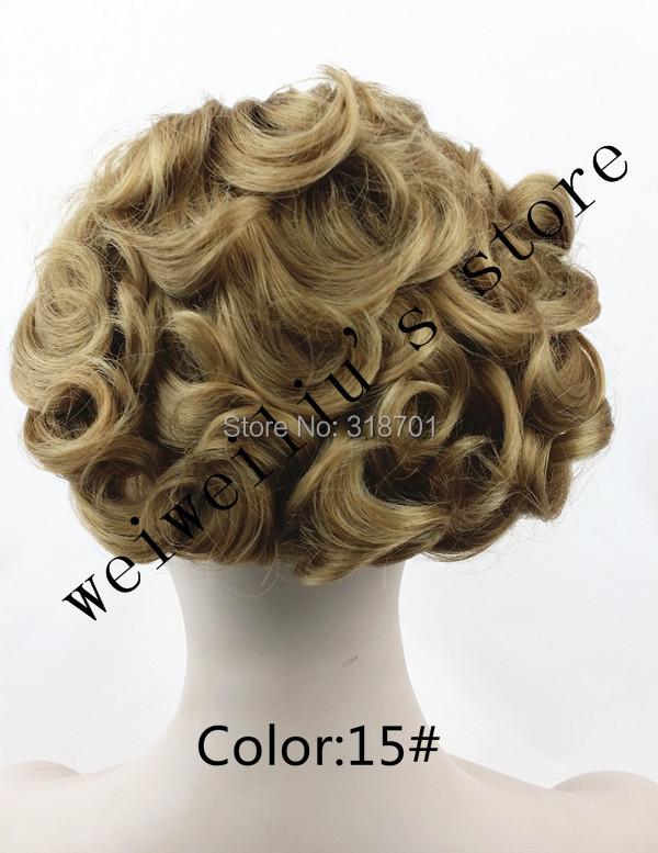 Женщины в шиньон булочка, Комбс легко клип для большой волос bun синтетический волос Chignon