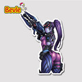 Bevle 9103 OW Shooting Game Widowmaker Fashion Stickers Geezer Notebook Waterproof 3M Sticker Fridge Skateboard Car