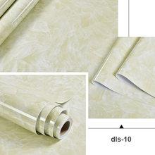 Мраморные самоклеющиеся обои мебель шкаф плита стол контактная бумага виниловые водонепроницаемые настенные наклейки для ванной кухни(Китай)