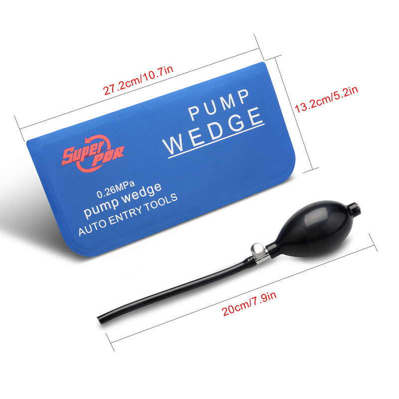 Auto Air Wedge Airbag PDR tools Lock Pick Set Pump Wedge Locksmith Tools  Open Car Door Lock Hand Tools M L size 2 pcs/lot